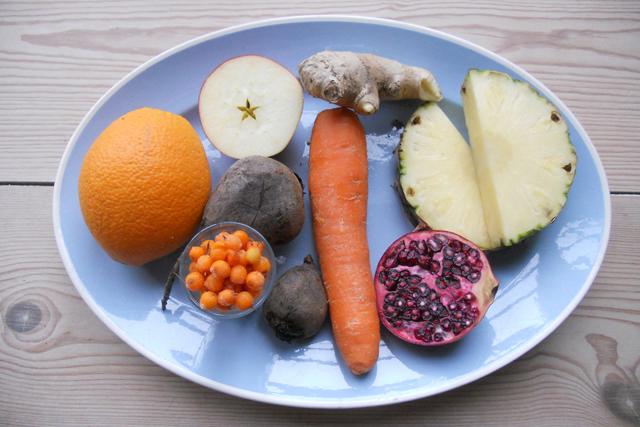 Madblog Cathrine Brandt Friskpresset Juice