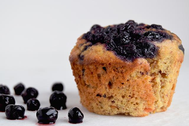 Sunde muffins med blåbærkompot – børnevenlige og sukkerfrie – Cathrine Brandt
